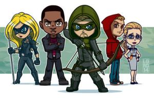 Arrow Gang!! by lordmesa