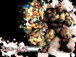 SFIV Splatter Zangief by Vegett0