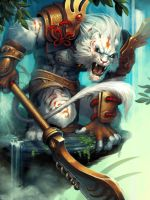 Hand of the Gods: White Tiger by Eksafael