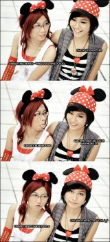 Minnie mouse shoot outtakes by Crissey