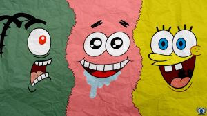 My SpongeBob Wallpaper by Okman179