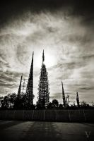 Watts Towers by CapnVeeZee