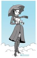 Mary poppins poppin out by Hackman23