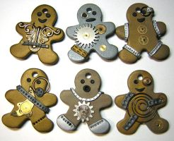 Steampunk Gingerbread People by eerok1955