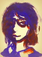 Miss Pauling (fast fingerpaint) by Snipyro