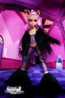 Ghouls Rule Clawdeen by KittRen