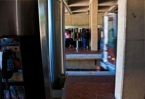Metro at Falls Church- After by mysoulvacation