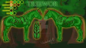 Treewor by The-LeafIslet