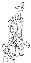 Filia sitting by oh8