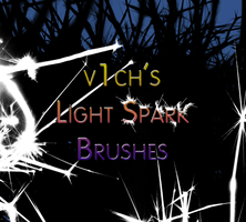 Light Spark Brushes by v1ch
