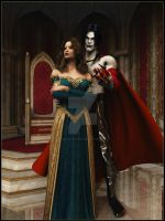 Raziel and Irisia 4 Trelela by 3D-Fantasy-Art