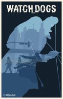 Watch Dogs poster by billpyle