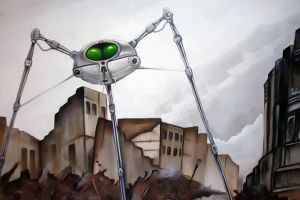 War of the Worlds Martian Fighting Machine by Retrodan16