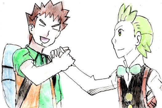 Brock and Cilan by Fran48