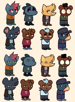 night in the woods homestuck sprite edits by dongoverlord