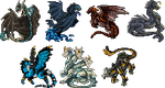 Mini sprites batch - Commissions by ShadeDreams