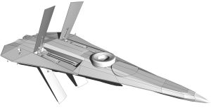 Space Fighter WIP by MrJumpManV4
