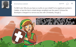 Ask Link - Crucifix by pocket-arsenal