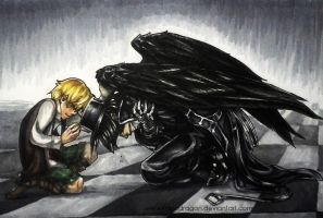 Pandora Hearts: My Poor Little Raven... by Kabudragon