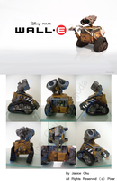 Painted WallE by Klangoda