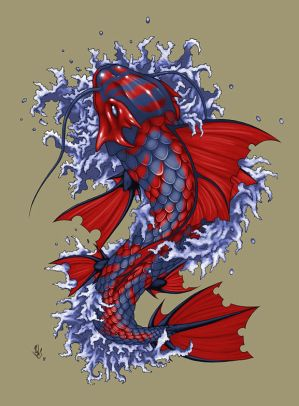 Japanese Koi Fish Tattoo Designs. Japanese Koi Fish Tattoo Designs