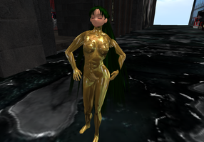 SL - Gilded Pluto by Zoe-the-Pink-Ranger