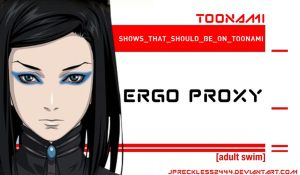 Ergo Proxy Should Be On Toonami by JPReckless2444