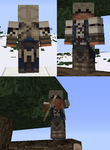 Connor Kenway Minecraft Skin by xTarynStormCaster