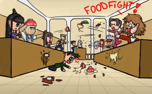 Foodfight by Berendsnors-Fanart