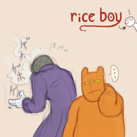 Rice Boy: T.O.E. and Calabash by Fuwa2-Kyara