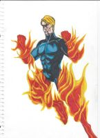Human Torch by danbol