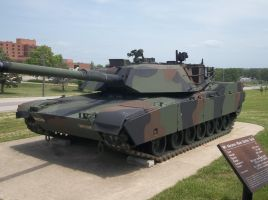 M1 Abrams by SirMauser