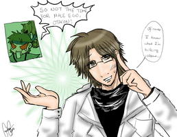 Otacon knows everything. by sschan