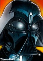 McQuarrie Vader Concept by RandySiplon