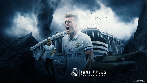 Toni Kroos Wallpaper 2016/17 by Abbes17