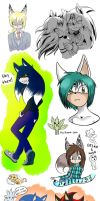 .:SD:. Doodles Coloring by kiuki-10