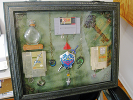 Zelda Shadow Box by DoranBladefist