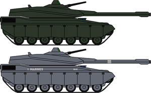 MBT-982 Manticore II by IgorKutuzov