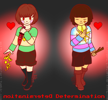 Undertale - First/Last human by WolfKIce
