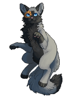 Z--Kitty Commission by Hoxau