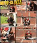 Borderlands Mordecai The Hunter mini-Munny by zeemenace