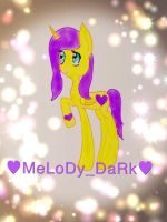 My OC Melody Dark :3 by Melody-Dark2000