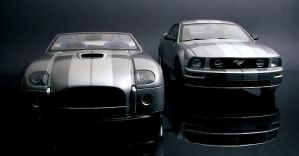 Cobra Concept vs. Mustang GT 2 by FordGT