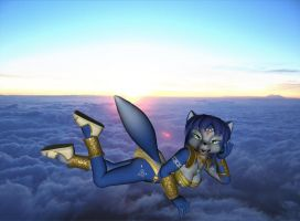 Krystal In The Clouds by xXTREMEXx