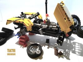Repairing a Tractor by HorcikDesigns