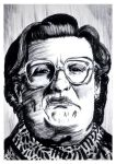 Mrs. Doubtfire #reto1draw by elfantasmo