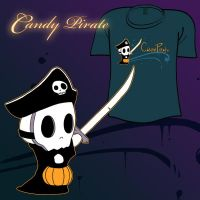 Woot Shirt - Candy Pirate by fablefire