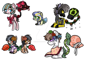 Plant Pony Collab Adopts (closed) by FallenFateAdopts