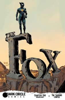 The Fox #5 variant cover by RobertHack
