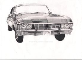 Supernatural Impala by Witneil